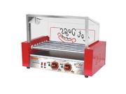 汇利WY-007新款台湾烤热狗机 七管烤肠机 烤香肠机